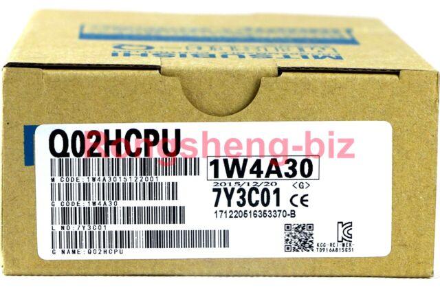 New In Box Mitsubishi PLC   Q02HCPU