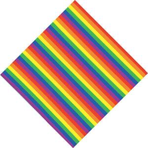 BANDANA-ARC-EN-CIEL-100-COTON-55-X-55-cm-GAY-PRIDE-RAINBOW-DRAPEAU-FOULARD