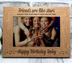 16 18 21 30 40 50th Birthday Silver Finish  Diamante Number Photo Frame Gift UK
