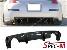 Carbon Fiber Rear Bumper Diffuser Add On For Nissan Fairlady 350Z Z33 Z