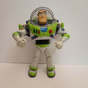 "Buzz Lightyear - Toy Story - Animated Action Talking Figure - 12"" Disney Pixar"