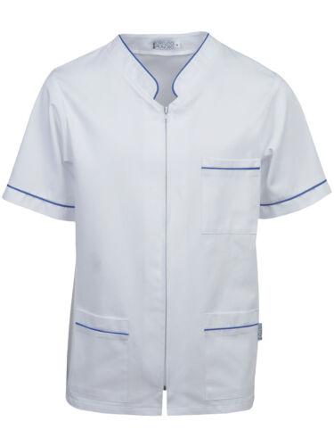 Casacca Medico 100/% Cotone Solido al Cloro Unisex Doctor/'s Coat CSZMC