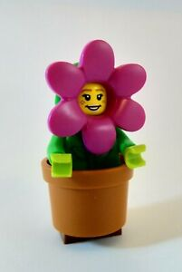 LEGO Flower Pot Girl Complete Set with Stand 71021 Series 18 Minifigure