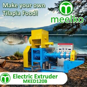 ELECTRIC-EXTRUDER-TO-MAKE-YOUR-OWN-TILAPIA-FISH-FOOD-MKED120B-FREE-SHIPPING