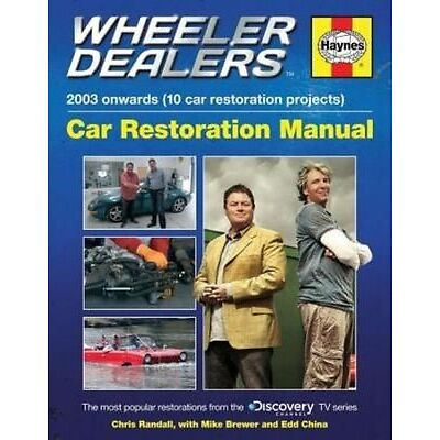Haynes Wheeler Dealers Car Restoration Manual H5798