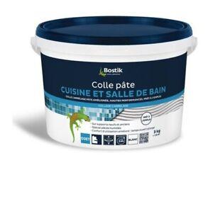 COLLE CARRELAGE PRET A L EMPLOI SPECIAL CUISINE ET SALLE DE BAINS 3KG BOSTIK