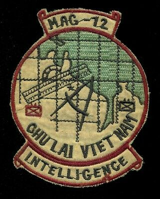 USMC MAG-12 Intelligence Theater Made Vietnam Patch B-2