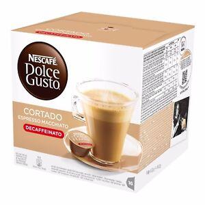BOX-OF-NESCAFE-DOLCE-GUSTO-CORTADO-DECAF-DECAFFEINATED-COFFEE-PODS