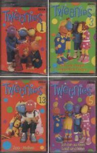 4-x-Hoerspielkassette-TWEENIES-Folge-1-3-5-13-sehr-selten