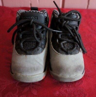 pretty nice 699c5 37f08 Nike 310808-023 Air Jordan Retro 10 X Grey Infrared Black Toddler Shoe Sz  6c | eBay