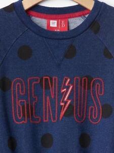 Gap Kids Nwt Navy Ellen Degeneres Genius Polka Dot Dress Xs S M L Xl 45