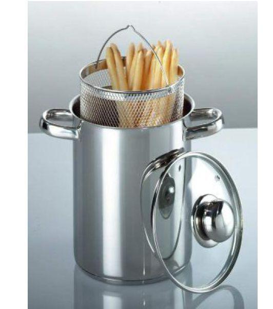 Spargeltopf spaghettitopf nudeltopf en acier inoxydable 4 litres  top qualité  22012