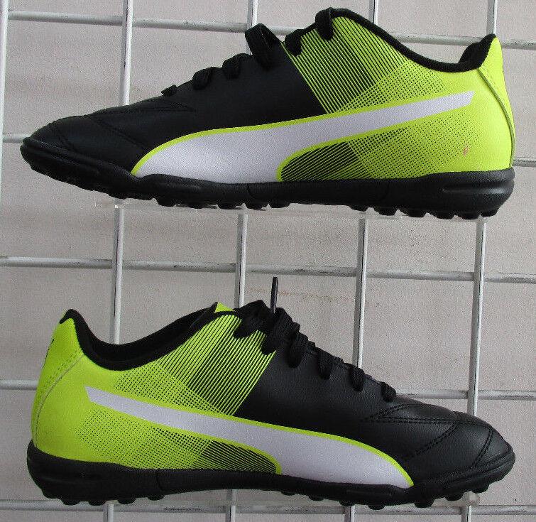 d4bfe894c4a4a9 Boy s PUMA Adreno II TT Jr SNEAKERS Black Neon Green Spor Walking ...