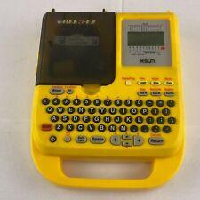 K Sun Bee3 Ez Electronic Label Heat Shrink Tube Bar Code Printer Shop Extras