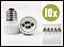 10-x-Adapter-E27-GU10-Lampenfassung-Konverter-Sockel-Lampensockel-Fassung Indexbild 2