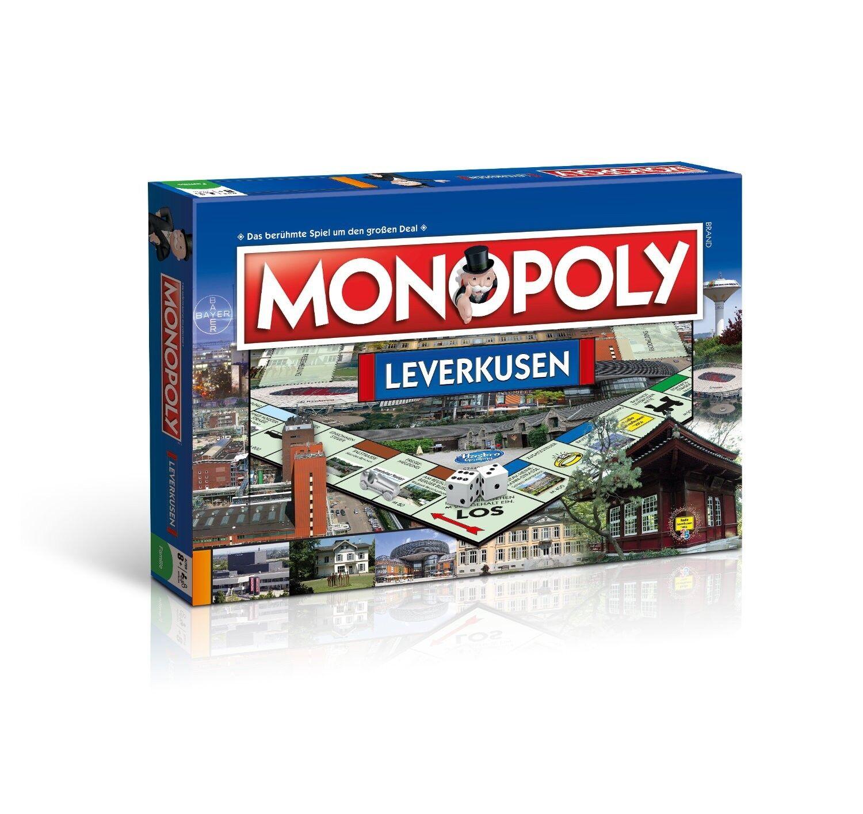 Monopoly - spiel brettspiel gesellschaftsspiel stadt leverkusen.
