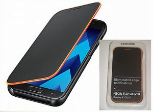 Original-Samsung-Galaxy-A3-2017-edition-Fluo-Housse-Etui-Rabattable-ef-fa320