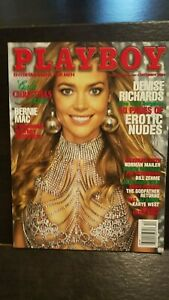 Vintage-December-2004-Playboy-Gala-Christmas-issue-Denise-Richards-pictorial
