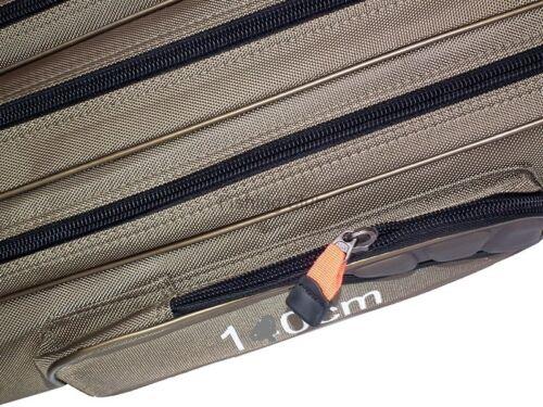 140//3 1A versteift Rutentasche Ruttenfutterale Angelrutentasche 200027
