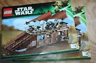 Lego Star Wars Desert Skiff and Jabba's Sail Barge ALL FIGS 9496 75020