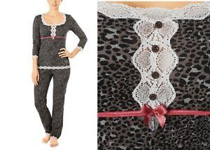 Sonderverkäufe für die ganze Familie Designermode Details zu Vive Maria Schlafanzug Leopard Wild dream Pyjama sweet leo  Pyjama 304074 Spitze