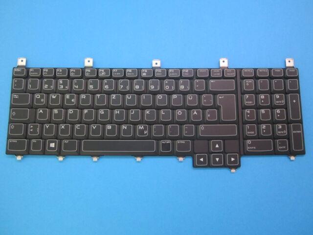 Keyboard De Dell Alienware M17x M18x German 0W63D2 NSK-D8D0G Backlit