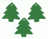 50 Christmas Tree Gift Tags - Blank Handmade Hang Die Cuts Cardstock Paper 3