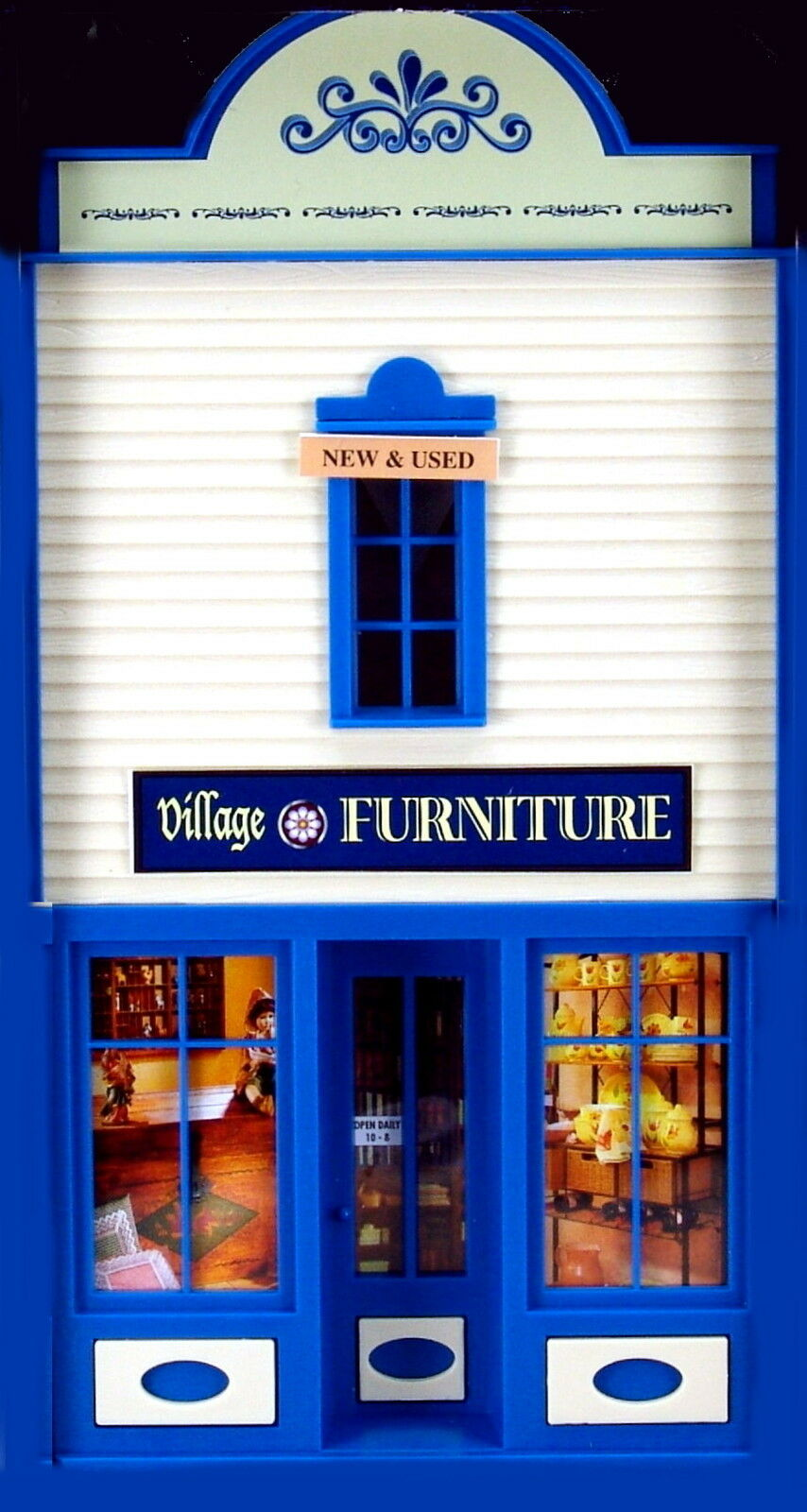PIKO  VILLAGE FURNITURE    STORE G Scale Building Qwik Kit   62722  New in box d02e98