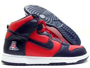 NIKE DUNK HIGH ID SPORT RED MIDNIGHT NAVY-WHITE SIZE MEN S 12 ... 675fa9653f6b