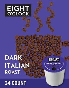 Eight-O-Clock-Coffee-Dark-Italian-Roast-Keurig-K-cup-Pods-Dark-Roast-Coffee