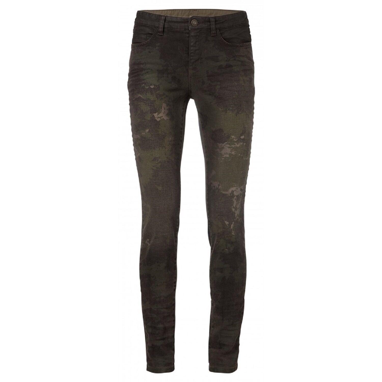 YAYA sold out printed Jeans Hose denim camouflage flower skinny pant | Moderne und elegante Mode  | Qualitätskönigin  | Lebhaft und liebenswert  | Outlet Online Store  | Elegante Und Stabile Verpackung