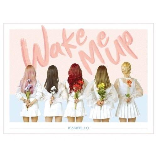 Marmello Wake Me up EP Album CD Booklet KPOP