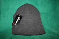 Thinsulate 3m Charcoal Gray Knit Hat, With Tags Free Shipping In The Usa