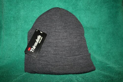 THINSULATE 3M  Charcoal Gray Knit Hat NEW WITH TAGS FREE SHIPPING in the USA