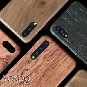 new product 92f55 25c1b Details about For Huawei P20 P30 Pro Wooden Real original Rosewood Made  With kevlar Case Cover