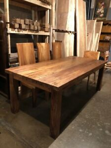 Details About Reclaimed Teak Wood Dining Table Rustic Finish 87 X 40 Beautiful One Of A Kind