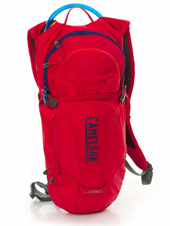 Camelbak Lobo 3L Hydration Pack rot Crux Resevoir Radfahren Draußen Tasche