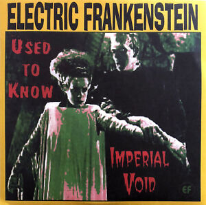 Electric-Frankenstein-7-034-Used-To-Know-Imperial-Void-Yellow-Vinyl-USA-M-M