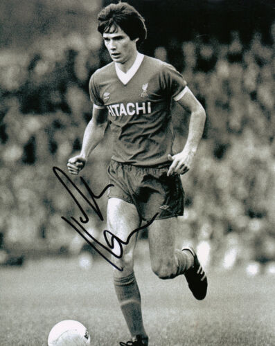 Alan Hansen Signed 10X8 Photo GENUINE Liverpool FC AFTAL COA 1162