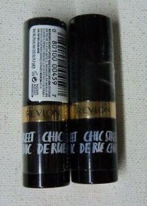 2-tube-lot-REVLON-SUPER-LUSTROUS-LIPSTICK-725-LOVE-THAT-RED-creme-SEALED