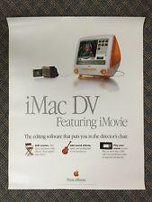 "APPLE STORE POSTER - ""iMac DV"" THINK DIFFERENT 1999 - ORIGINAL"
