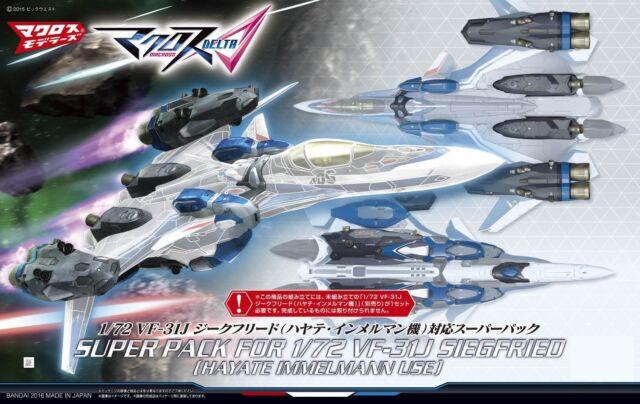 Macross Delta Super Parts for VF-31J SIEGFRIED Hayate 1/72 model kit Bandai