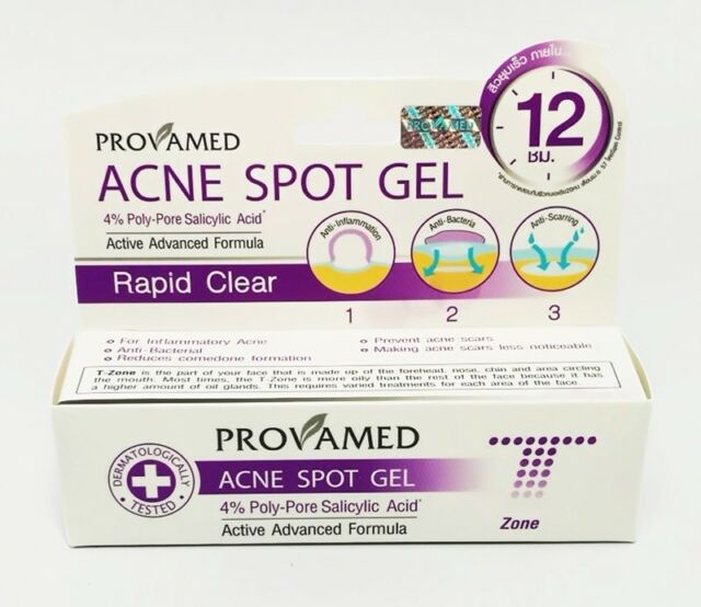 Best ProvaMed Acne Spot Cream GEL F Cystic Pimple Clear Face Treatment 10ml  for sale online | eBay