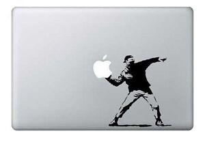 MacBook-13-034-Banksy-art-Flowers-Apple-Decal-Sticker-pre-2016-MB-Pro-Air-only
