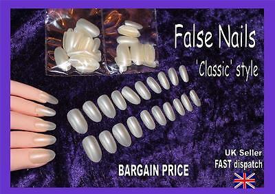 False nails tips CLASSIC ROUND elegant rounded BARGAIN PRICE manicure fake nail