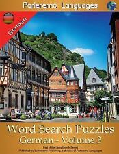Parleremo Languages Word Search Puzzles German: Parleremo Languages Word...