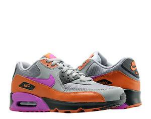 Detalles acerca de Nike Air Max 90 Essential gris fríovivos púrpura para hombres zapatos para correr AJ1285 013 mostrar título original