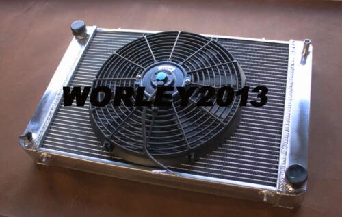 fan for Triumph TR8 3.5 V8  1978 1979 1980 1981 manual Aluminum radiator