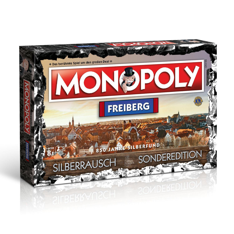 Monopoly Freiberg City Silberrausch Edition Spiel Gesellschaftsspiel Brettspiel