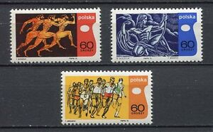 35802) Poland 1970 MNH Intl. Olympic Academy 3v. Scott #